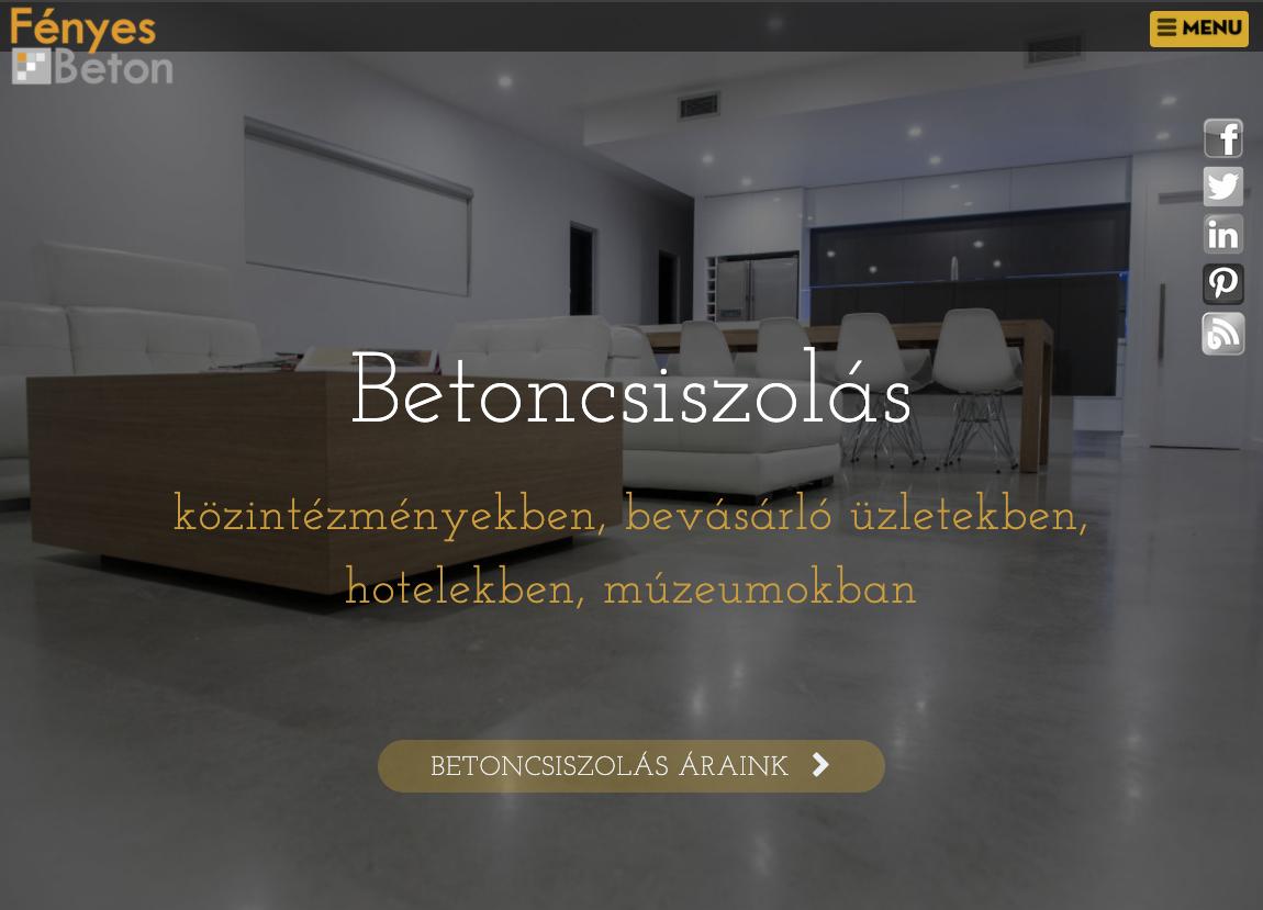 weboldal készítése